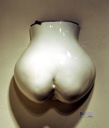 白花器 灰月姫 ファスナー